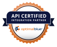 Jungo is API Certified with Optimal Blue